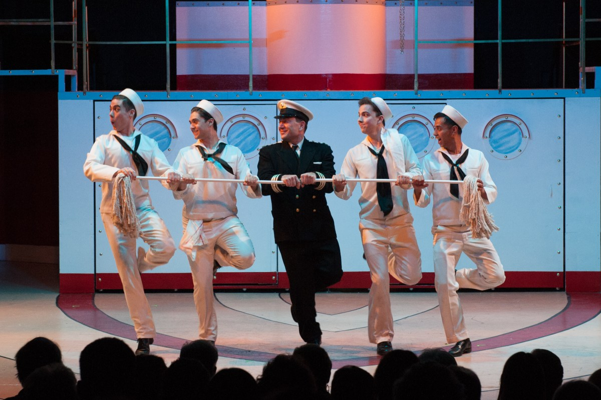"It's ""Fluffy"" Fun - Anything Goes @ The Gem Theatre in Garden Grove - Review"