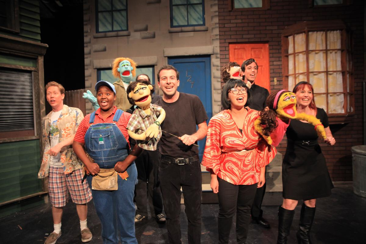 Life in Small Doses :  Avenue Q @ The Maverick in Fullerton - Review