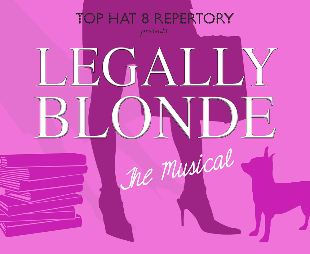 Top Hat 8 Repertory presents : Legally Blonde The Musical @ The Village Theatre in Orange - Review