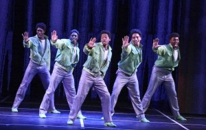 "The company performs in the LA MIRADA THEATRE FOR THE PERFORMING ARTS & McCOY RIGBY ENTERTAINMENT production of ""DREAMGIRLS"" - Directed and Choreographed by Robert Longbottom and now playing at LA MIRADA THEATRE FOR THE PERFORMING ARTS. PHOTO CREDIT: Michael Lamont"