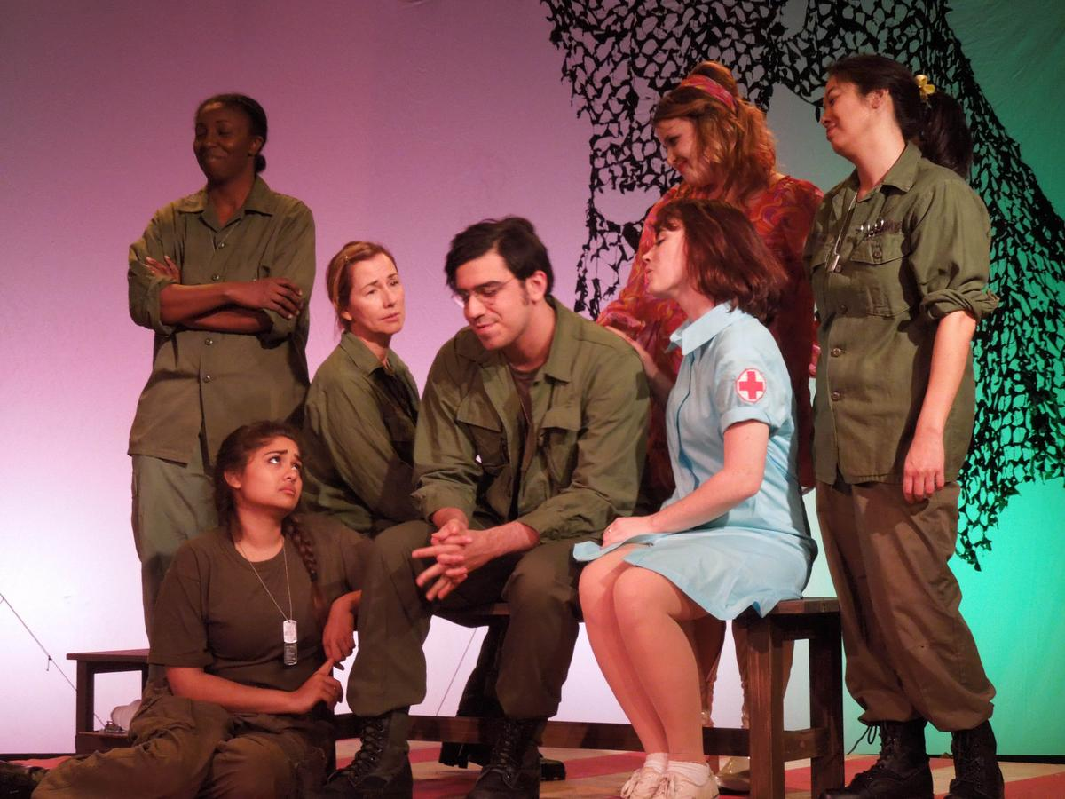 A Piece of My Heart @ The Costa Mesa Playhouse - Review