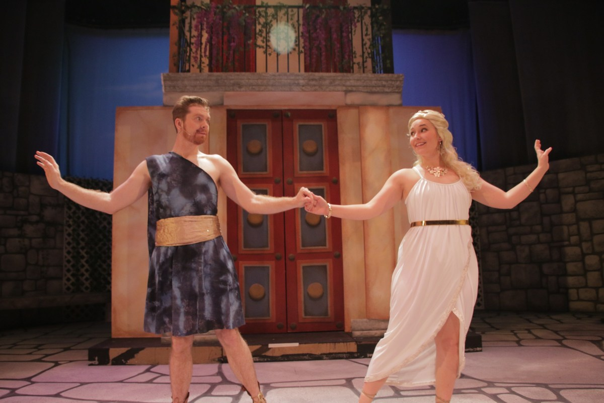 A Funny Thing Happened On the Way to the Forum @ Curtis Theatre in Brea - Review