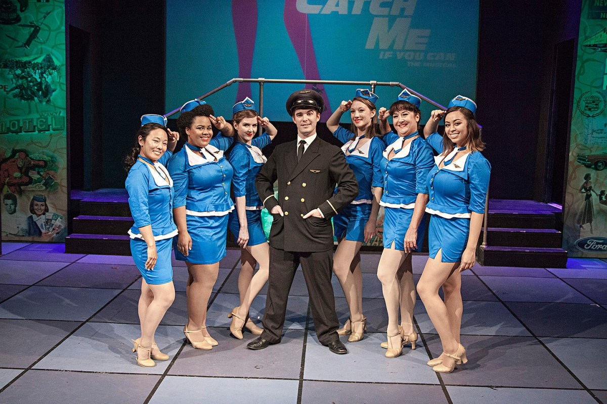 Catch Me If You Can, or Can't: CATCH ME IF YOU CAN The Musical @ The Attic Theatre in Santa Ana - Review