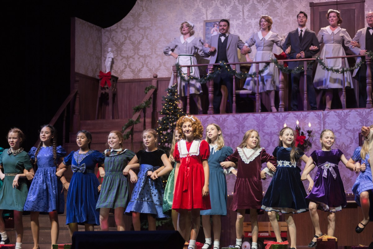 Broadway In The Park Presents: Annie @ Peppertree Park in Tustin - Review