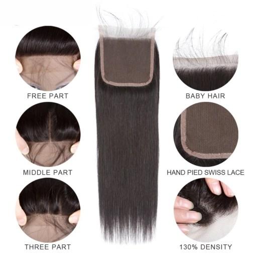 Straight Brazilian Hair Extension