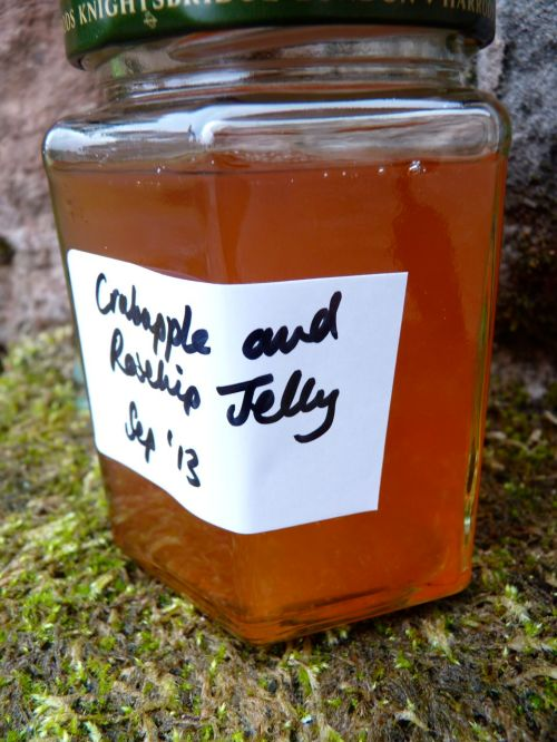 rosehip and crabapple jelly