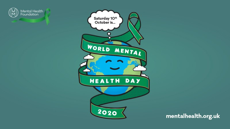 World Mental Health Day publicity image