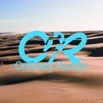 Desert with the Ordinary Runner logo overlaid