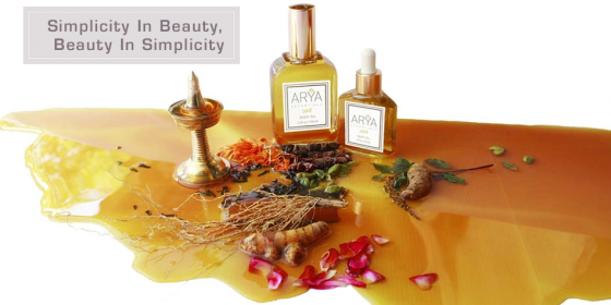 Organic Beauty Arya Essentials Oils