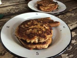 Flourless Camping Pancakes
