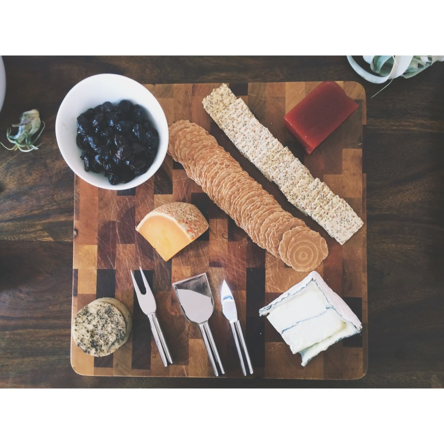 Vegan and Gluten-Free Friendly Cheese Board