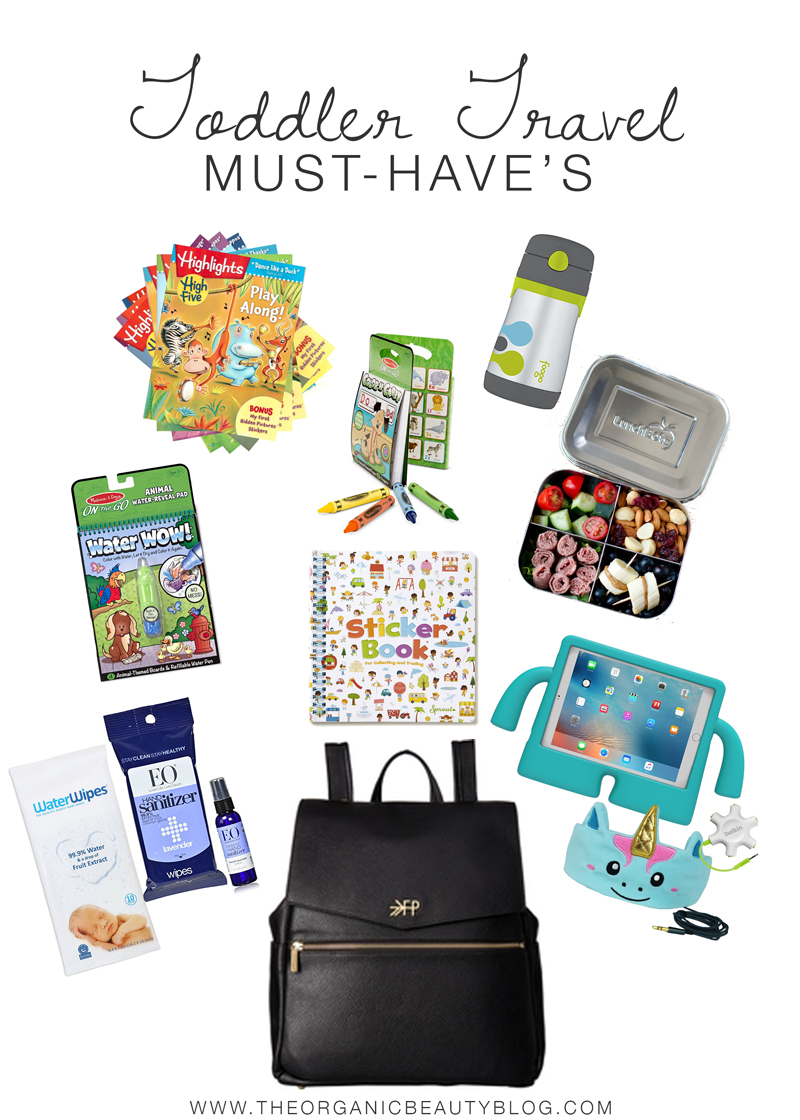 Toddler Travel Must-Haves | The Organic Beauty Blog