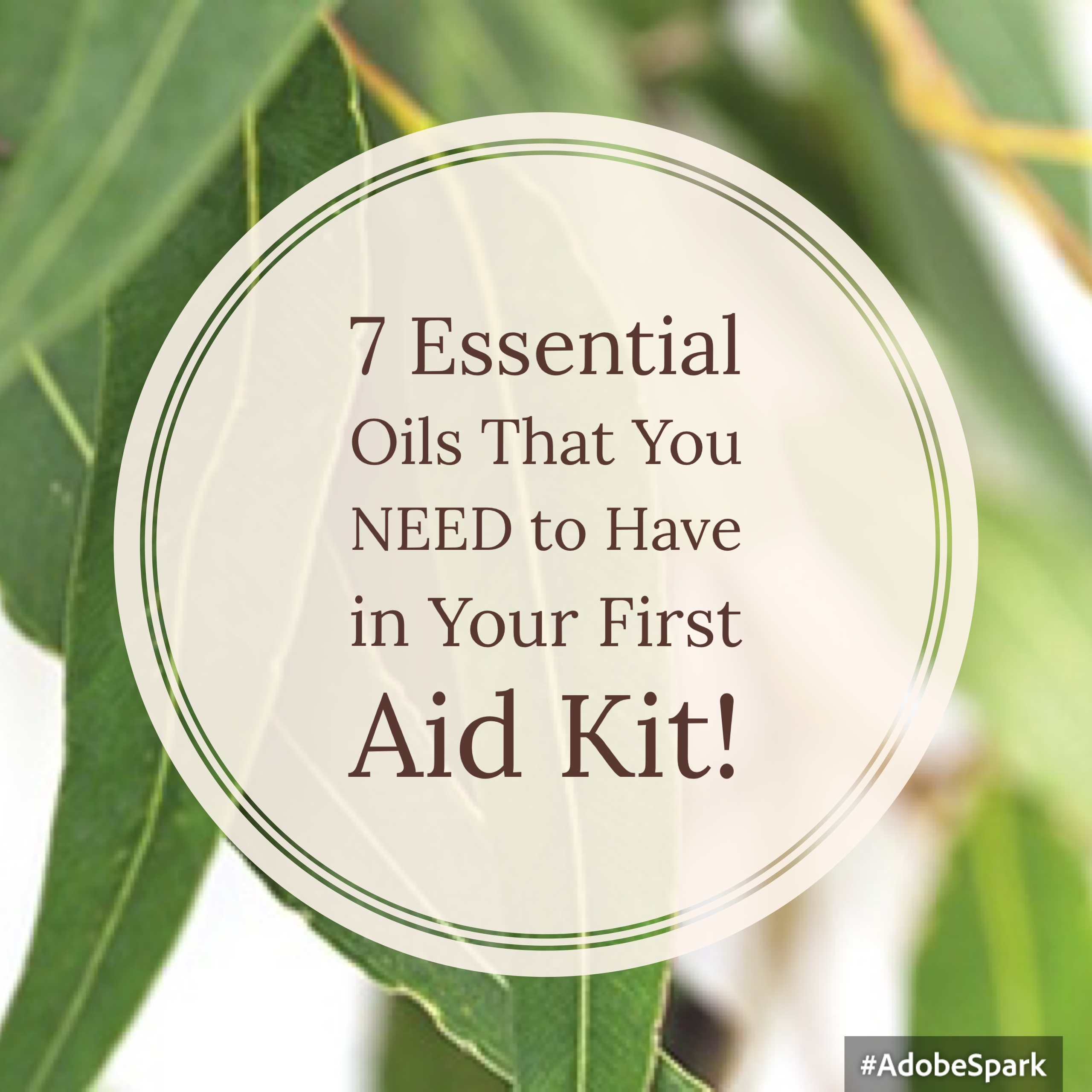 7 Essential Oils That You NEED to Have in Your First Aid Kit