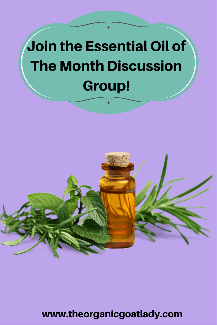Essential Oil of The Month Discussion Group