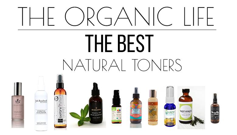 Top Ten All Natural Toners