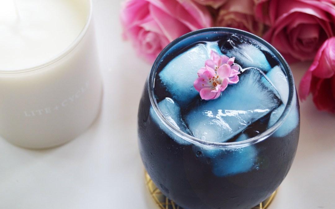 "The 3 Step Healthy ""Mermaid Mocktail"" Recipe:"