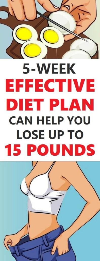 effective diet plan