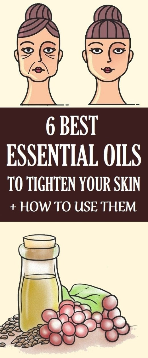 essential oils for skin tightening