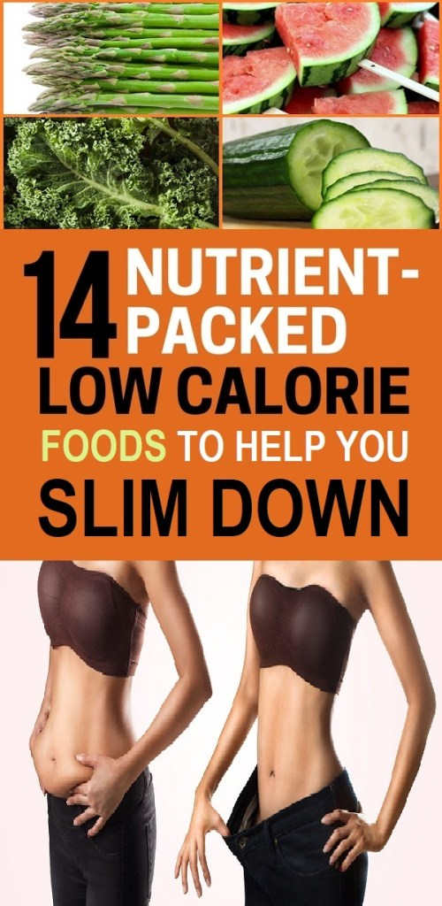 low calorie foods for weight loss
