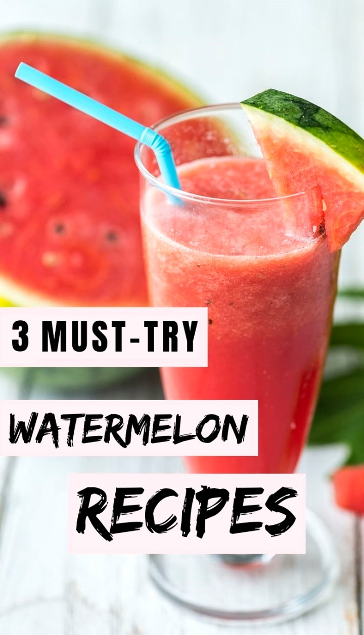 watermelon recipes drinks