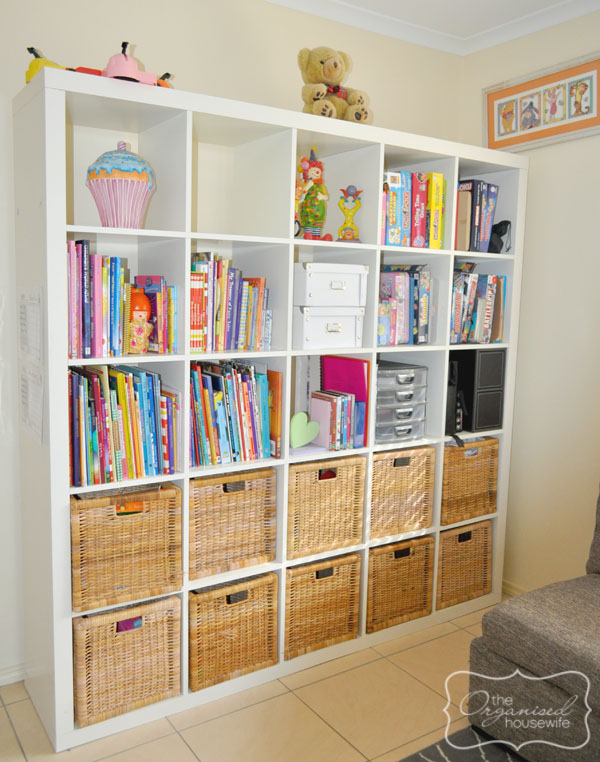 The Organised Housewife Toy Room Small Cupboard Storage Solutions