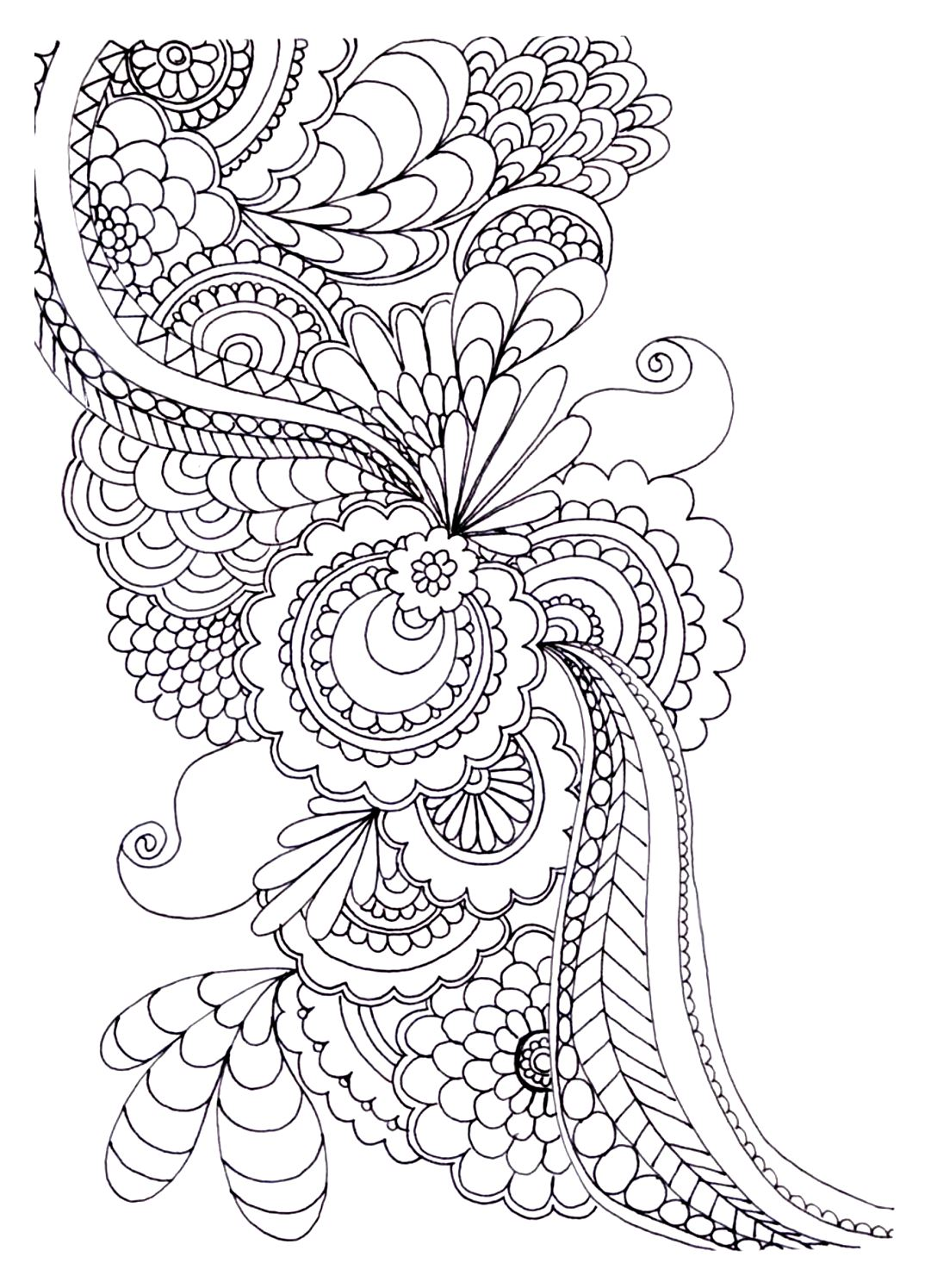 20+ Free Adult Colouring Pages - The Organised Housewife | coloring pages for adults online printable