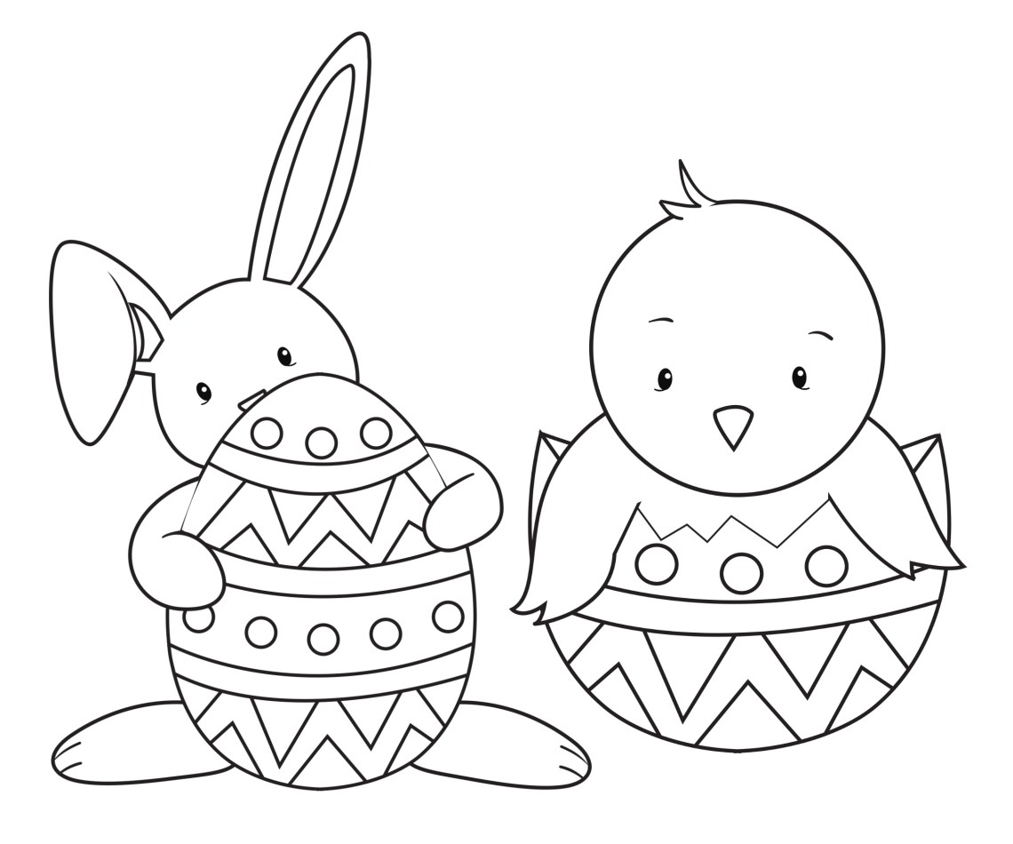 15 Easter Colouring In Pages - The Organised Housewife | coloring sheets easter printables