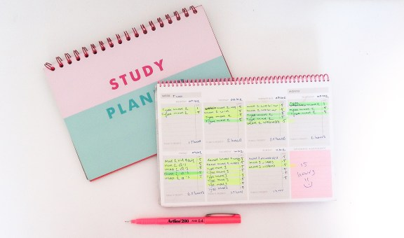 study planner for each semester