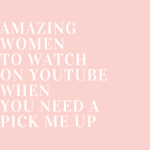 Youtube channels for when you need a pick me up