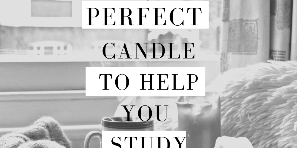 the perfect candle to help you study