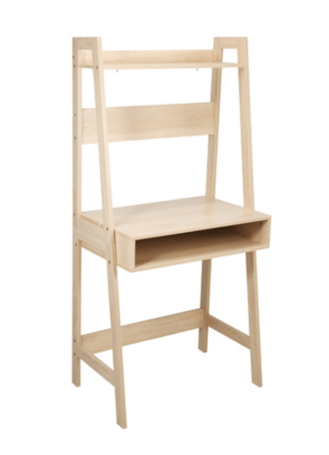 KMART Oak Look Ladder Desk
