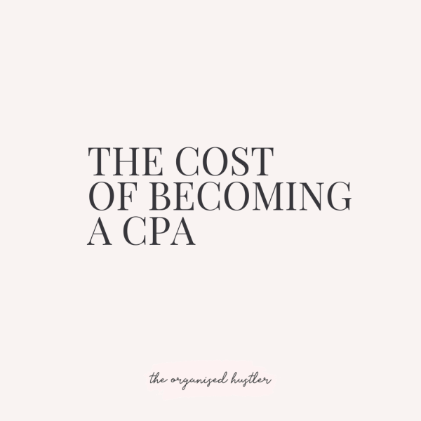 What is the real cost of becoming a CPA