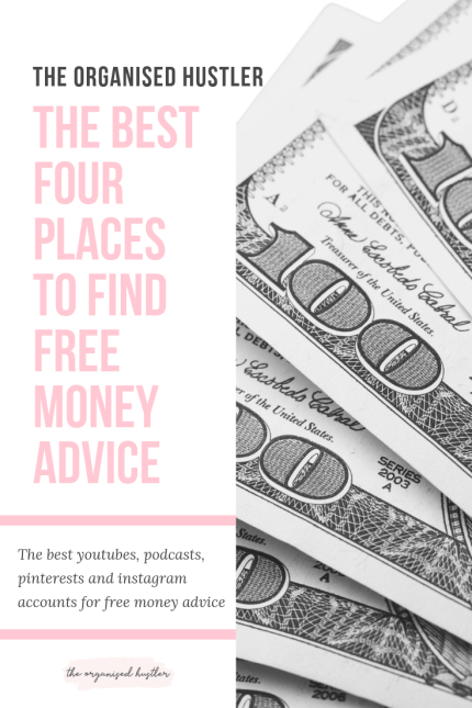 The best four places to find free money advice
