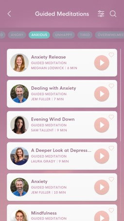 bloom mindfulness app guided meditations