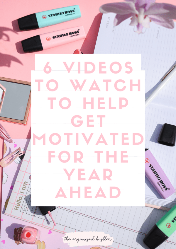 6 videos to watch to help get motivated for the year ahead