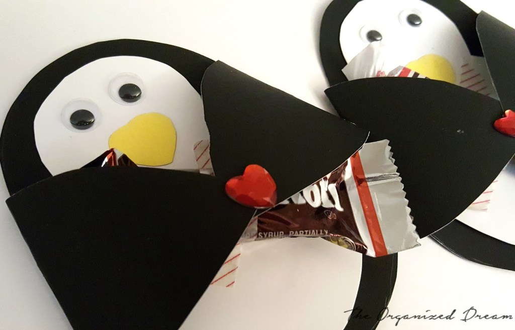 DIY Penguin Valentine's Day Cards