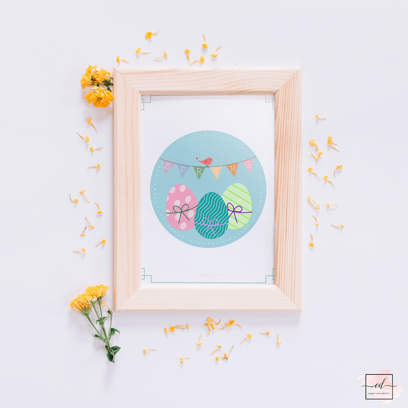Free Spring and Easter Printables