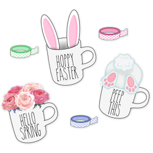 Spring and Easter Die Cuts