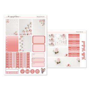 Roses Mini Sticker Kit