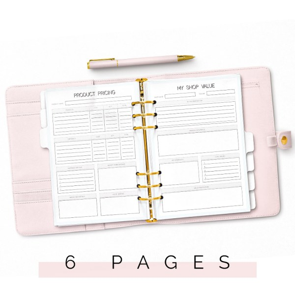 Shop Planner Pages