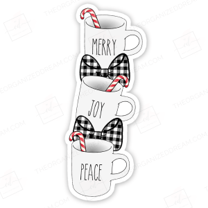 Holiday Mug Bookmark Die Cut