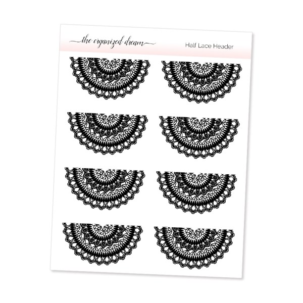 Half Lace Dividers