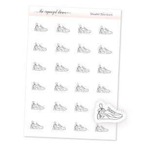 Sneaker Bow Icons