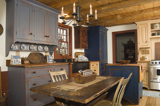 Rustic Farmhouse Kitchens
