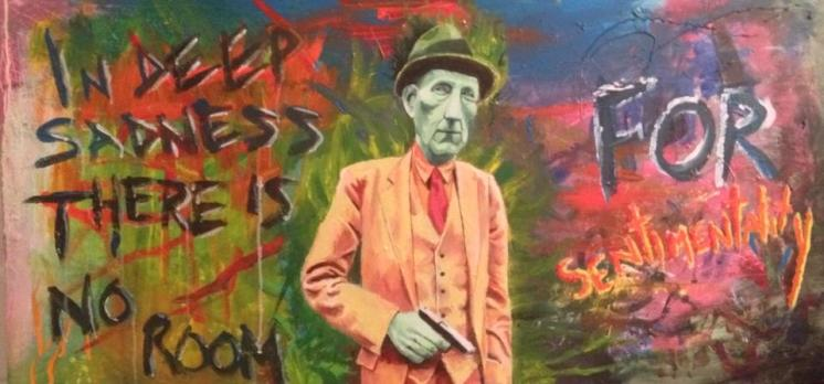 William S. Burroughs. I'm selling this one as a set with Vollmer.