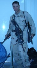 I carried 3 weapons in Iraq: M4 for patrols, Shotgun for breeching, and an AK47 I stole from an Iraqi General's house.