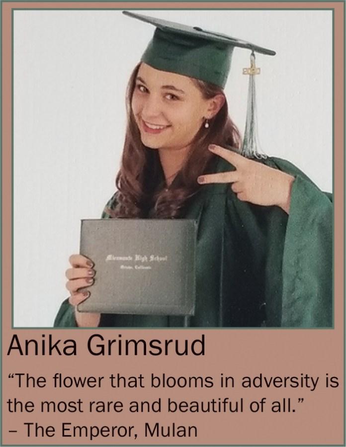 Anika Grimsrud June 2020