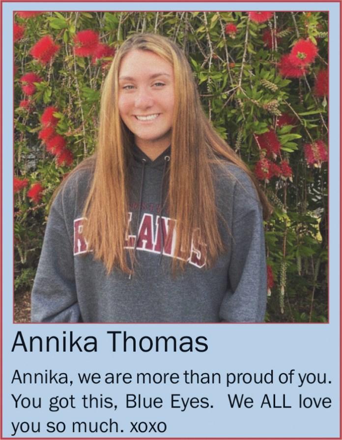 Annika Thomas June 2020