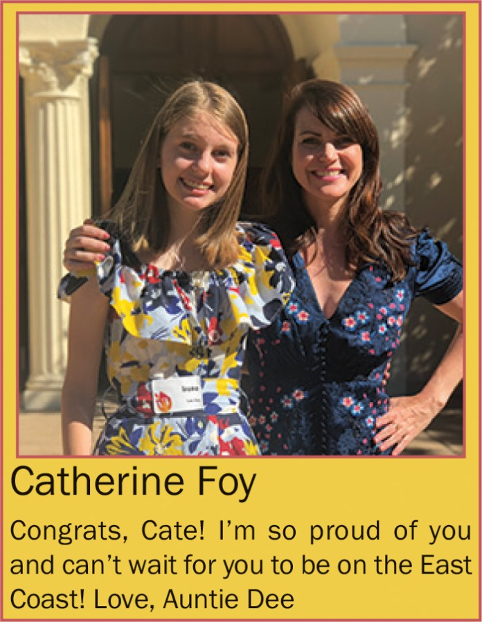 Catherine Foy a June 2020