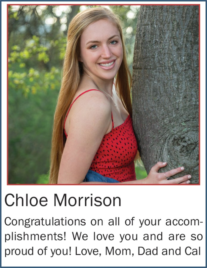 Chloe Morrison May 2020